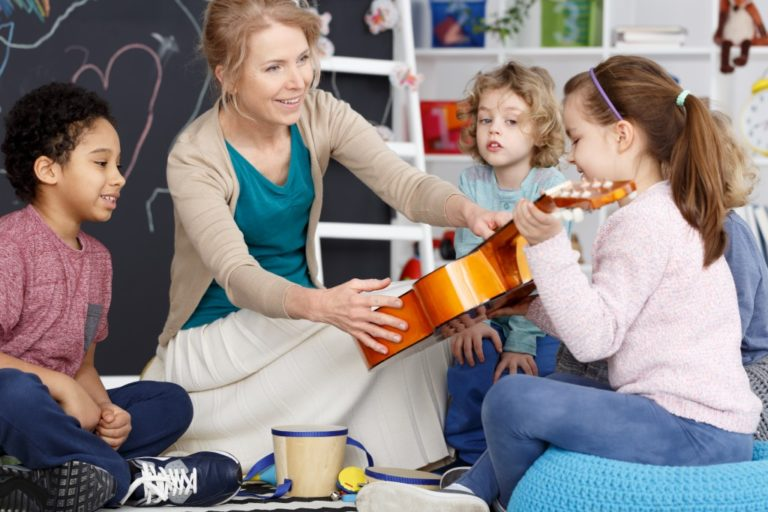 get your kids into music