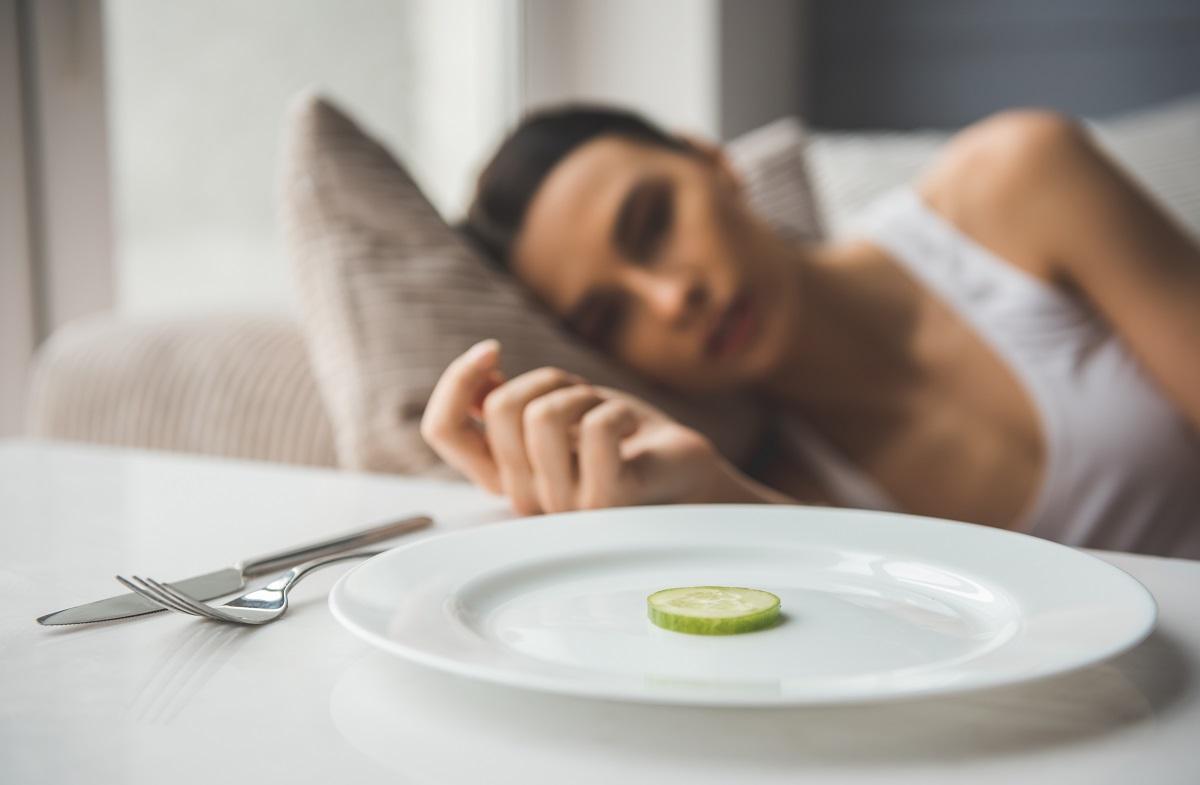 Female refusing to eat properly