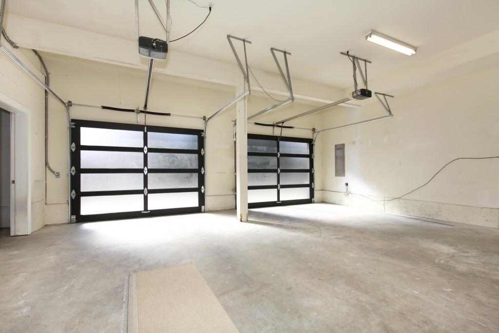 Two door house garage