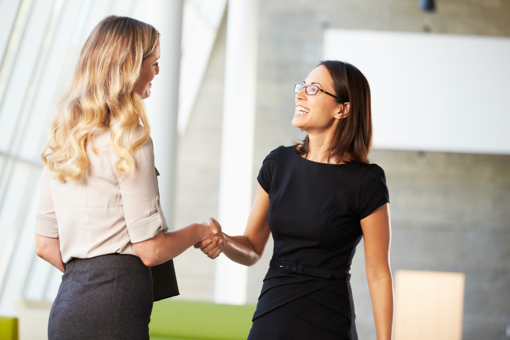 women in business attire